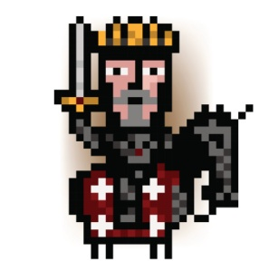 pixel king from the red army